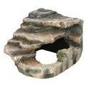 Rocher d'angle avec grotte et plateforme 19 × 17 × 17 cm